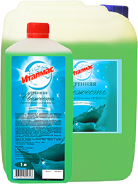 жидкое мыло Италмас с дезинфицирующим эффектом